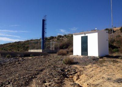 """Proyecto de estación de bombeo, en balsa """"La Madre del Agua"""" para la C.R. Sur-Andévalo"""