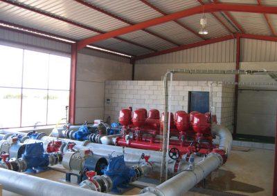 Proyecto y dirección de obra de puesta en riego de finca Azanaque