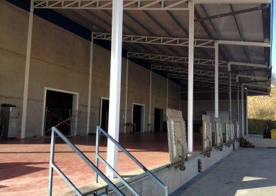 Proyecto y dirección de obras para nueva cámara frigorífica y ampliación de muelles en central hortofrutícola de Lucena del Puerto para Costa de Huelva, SCA.
