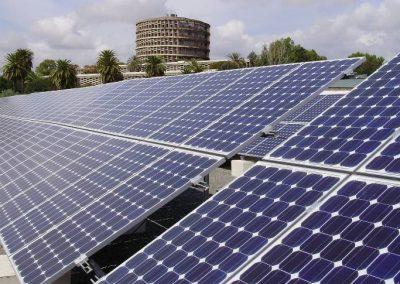 Proyecto de agrupación solar Solanas en Córdoba