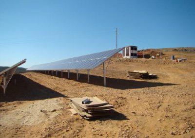 Proyecto de instalación de planta de energía solar fotovoltaica en Puebla de Guzmán