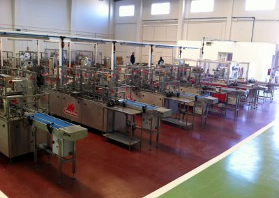 Proyecto de instalaciones de central hortofrutícola en Polígono San Jorge de Palos de la Frontera