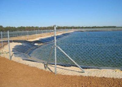 Proyecto de obra e instalaciones de nave de bombeo para riego agrícola en finca La Cañada del T.M. de Almonte