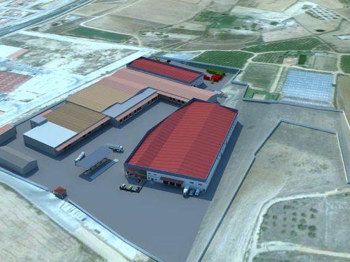 Anteproyecto de ampliación de central hortofrutícola de Cuna de Platero SCA en Moguer
