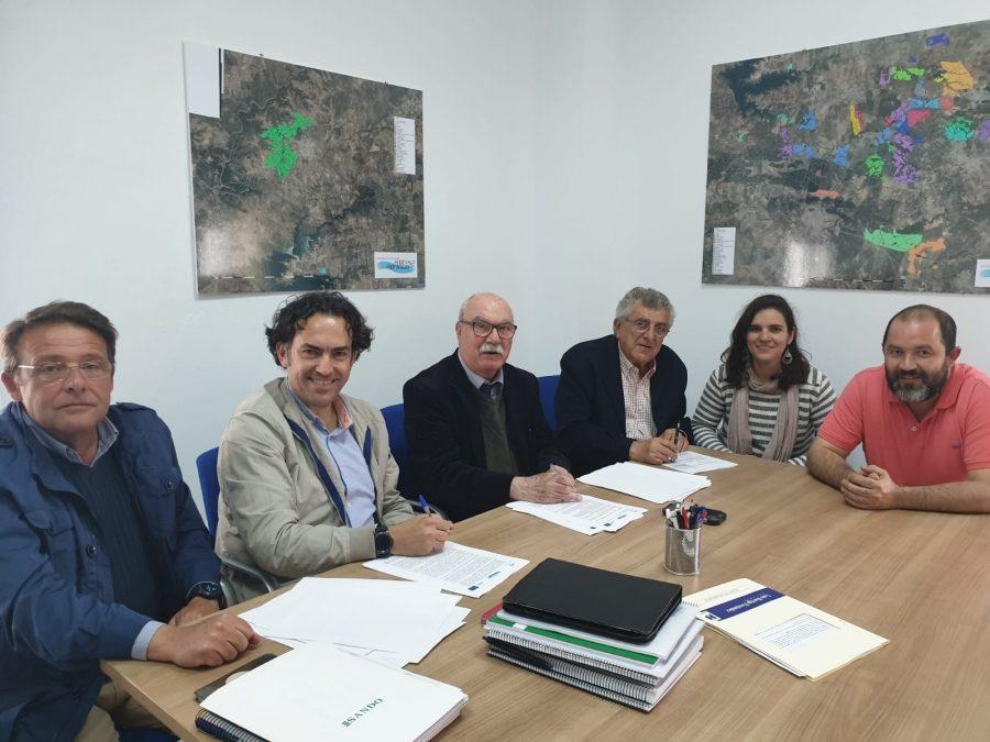 Comunidad de Regantes Andévalo Fronterizo pone en marcha el proyecto de Puesta en Riego