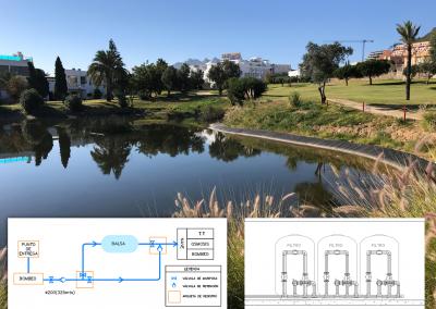 Estudio de alternativas de riego con aguas depuradas y proyecto de tratamiento terciario para el Campo de Golf de Mojácar (Almería)