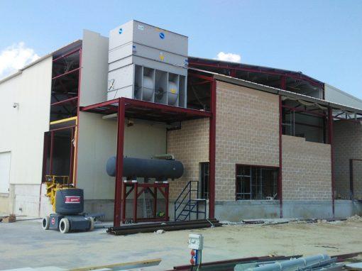 Ampliación de túneles y cámaras para nueva Central Hortofrutícola en Cabezas de Alambre (Ávila), para S.C.A. Cuna de Platero