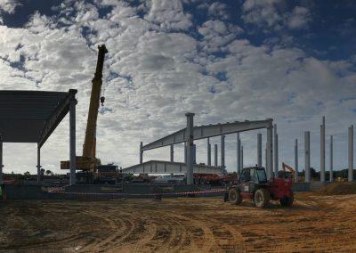 Proyecto y dirección de obras de central hortofrutícola en paraje Valdeoscuro de Gibraleón (Huelva), para S.C.A. Costa de Huelva